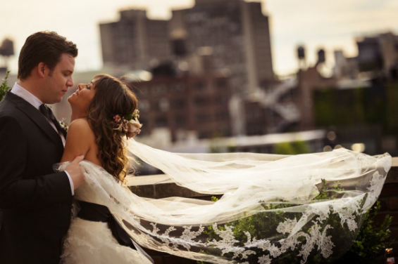 new york city wedding at the Bowery Hotel