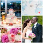 Amazing Spring Wedding Flowers at Le Meridien Arlington