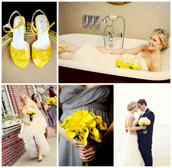 Marvelous Yellow Wedding At The Hotel Viking